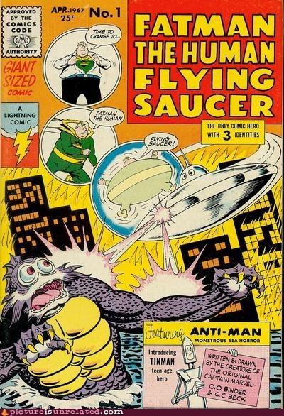 comic book fatman super hero wtf - 6300422656