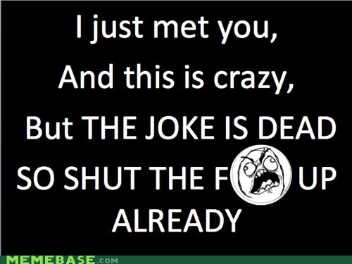 call me maybe dead joke Rage Comics - 6300528896