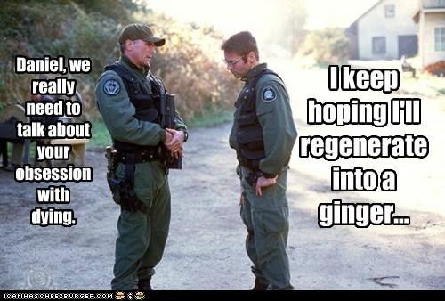 daniel jackson dying ginger jack-oneil michael shanks obsession regenerate Richard Dean Anderson Stargate Stargate SG-1 - 6300536832