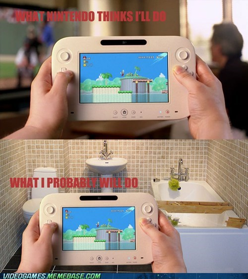 bathroom,gamepad,nintendo,wii U