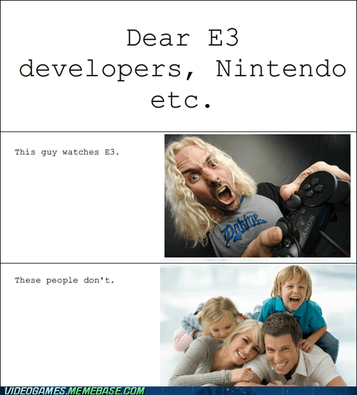 developers,e3,families,gamers,the feels