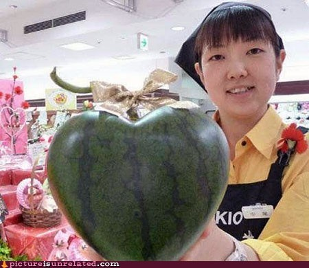 grocery store heart love watermelon wtf
