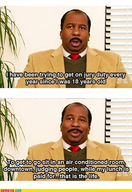 dream job jury duty the office TV