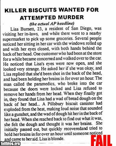 food Hall of Fame murder news Probably bad News recipes wtf - 6300783872