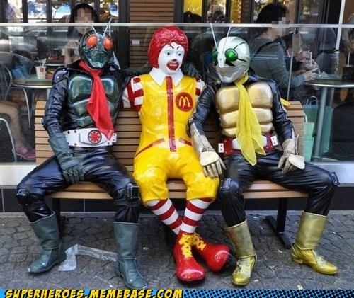 kamen rider Random Heroics Ronald McDonald wtf - 6300842496