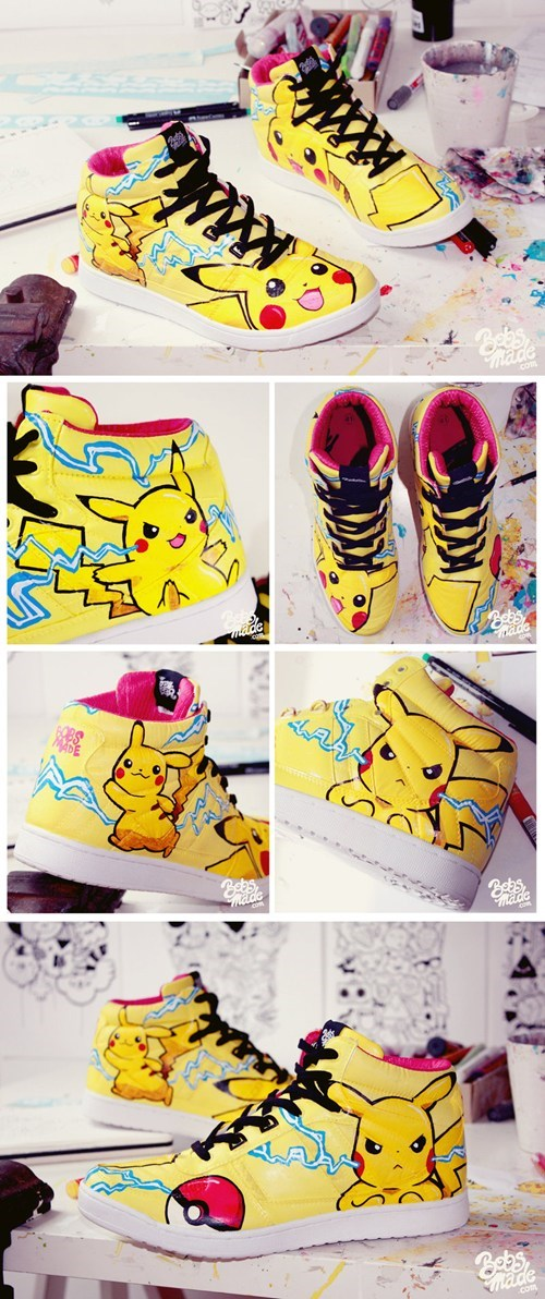 anime Fan Art Pokémon shoes video games - 6300932864