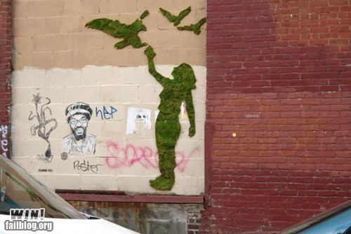 design,hacked irl,moss,Street Art