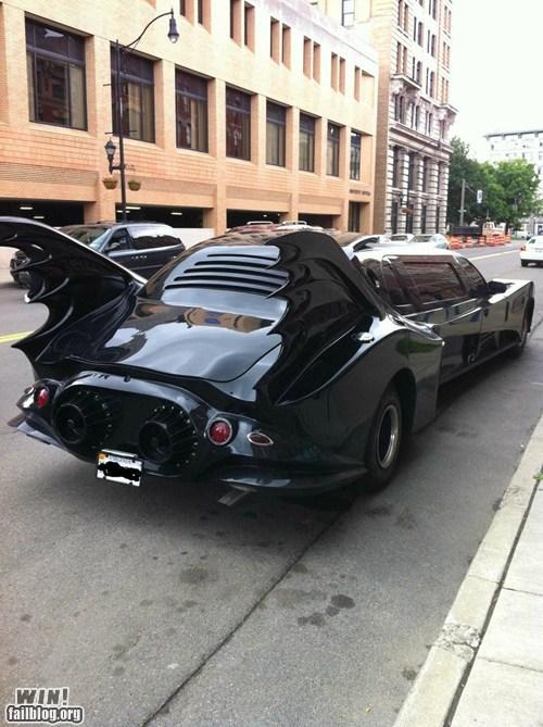 batman limo limousine nerdgasm super heroes - 6301018368