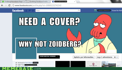 cover,facebook,Zoidberg