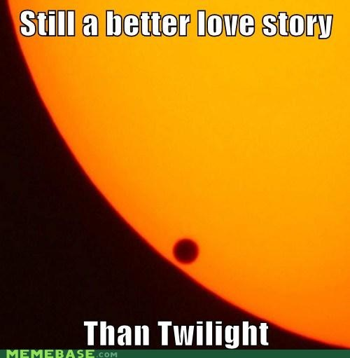 better love story,Memes,space,sun,transit,twilight,venus