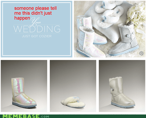 barf brb shoes weddings weird kid