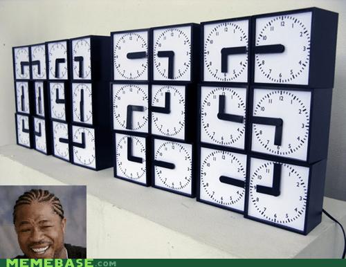 clocks time yo dawg - 6301398272
