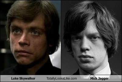 celeb,funny,luke skywalker,Mark Hamill,mick jagger,Music,TLL