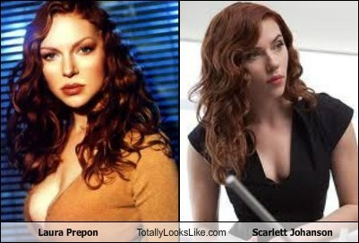 Laura Prepon Totally Looks Like Scarlett Johanson