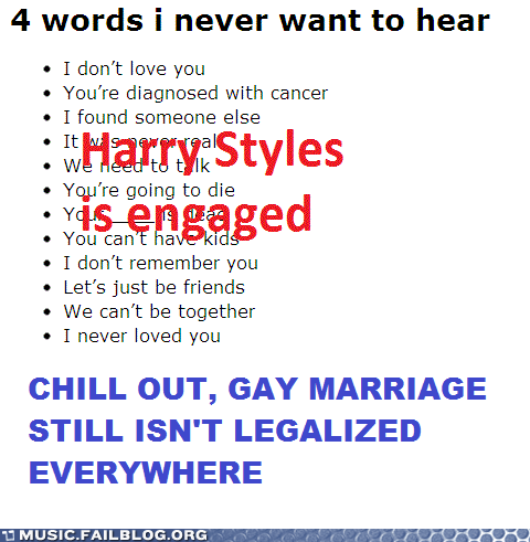 gay gay marriage harry styles homophobia homophobic one direction pop - 6302024192