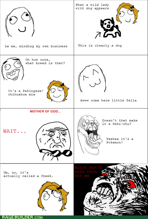 dogs,Pokémon,Rage Comics,raisin rage