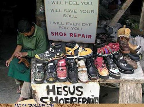 IRL religion shoe repair shoes - 6302133504