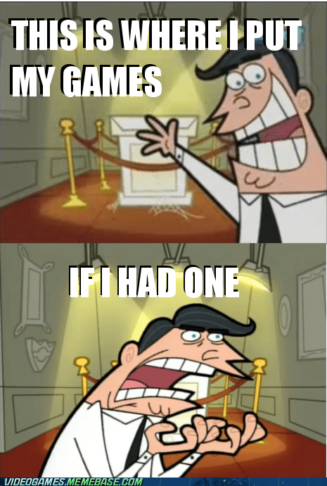 dinkleberg Fairly Oddparents games if i had one meme - 6302317824