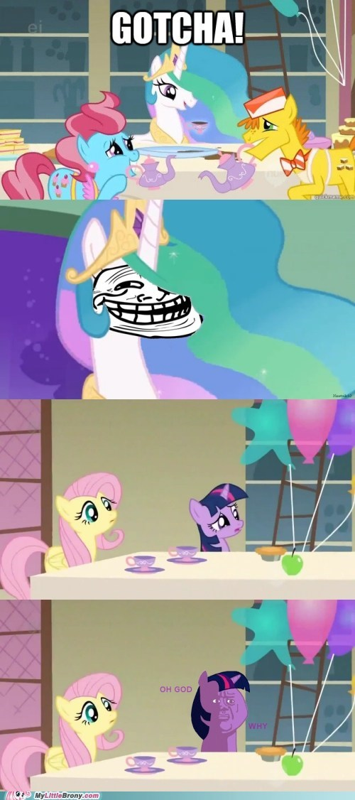 comic meme princess trollestia twilight sparkle - 6302330624