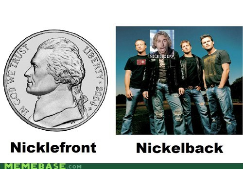 back bands front Memes nickle - 6302526208