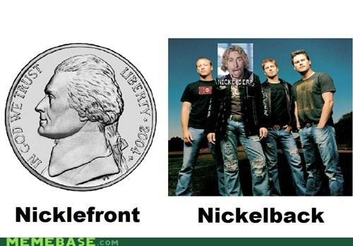 back bands front Memes nickle - 6302526208