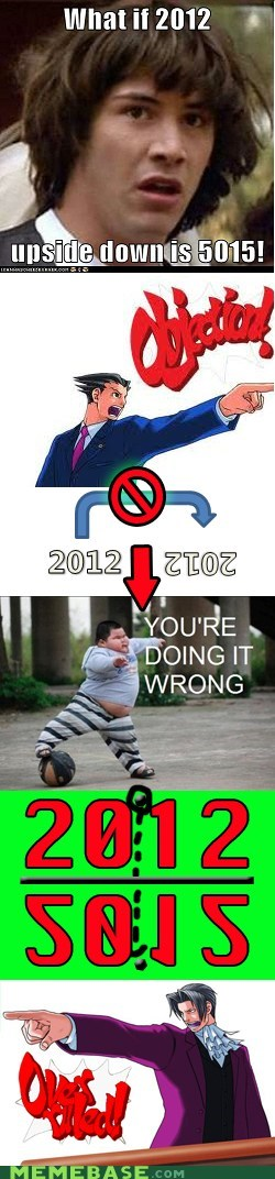 2012,5015,flip,Memes,objection,phoenix wright