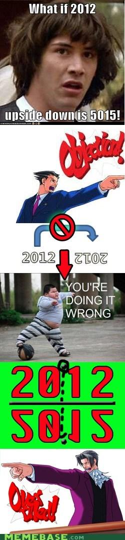 2012 5015 flip Memes objection phoenix wright - 6302575360