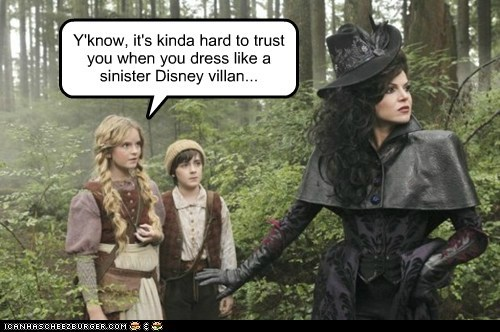 Disney villain,dress,evil queen,hard,lana parrilla,once upon a time,regina mills,suspicious,trust
