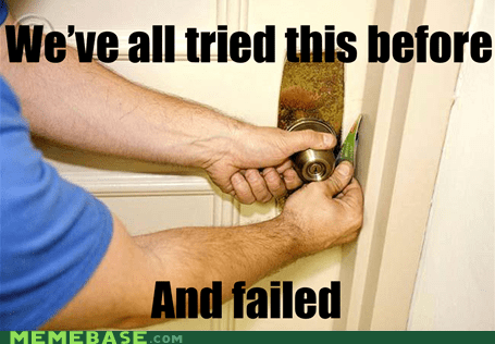 credit card failure lockpicking Memes - 6302708480