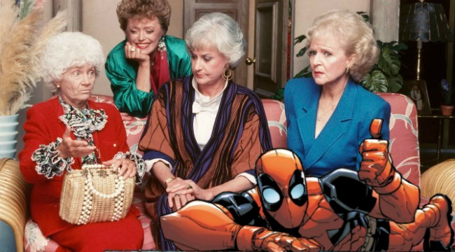 anniversary twitter marvel deadpool golden girls - 630277
