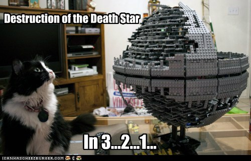 Destruction of the Death Star In 3...2...1...