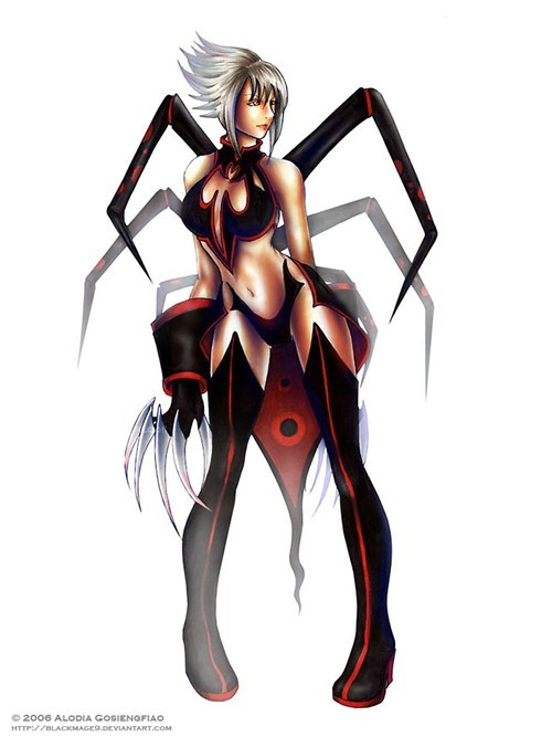 Fan Art OC spider webmistress - 6303353856