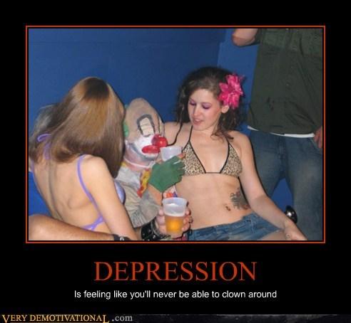 depression clown hilarious Sexy Ladies wtf - 6303383040