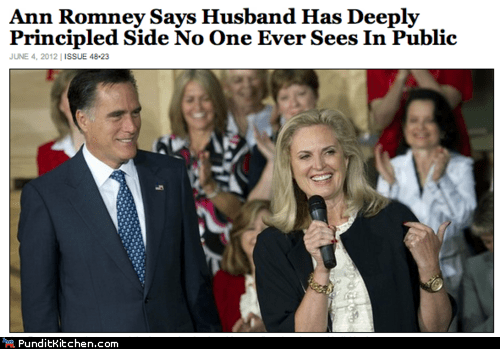Ann Romney,Mitt Romney,political pictures,the onion