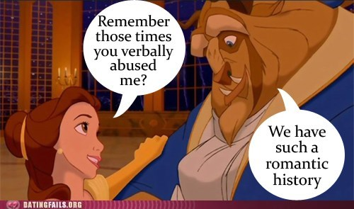 Beauty and the Beast belle disney verbal abuse - 6303955456