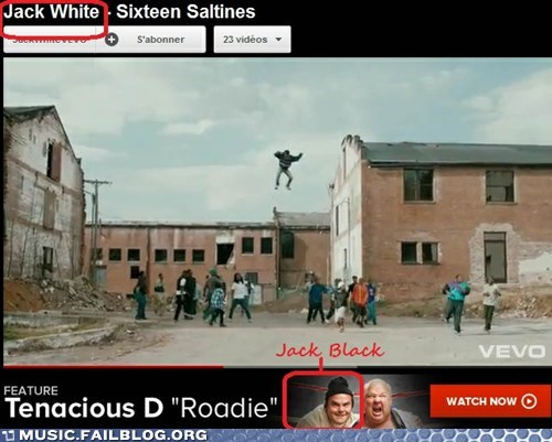 jack black jack white tenacious d vevo youtube - 6303982080