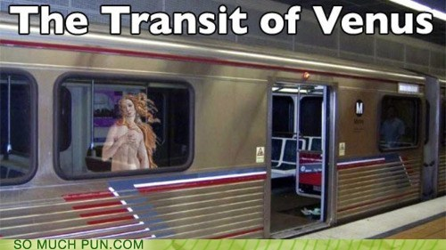 double meaning,Hall of Fame,literalism,public transit,transit,transit of venus,venus,venus de milo