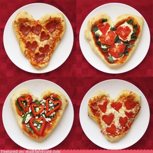 epicute heart love pizza toppings - 6304210432