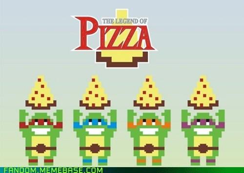 crossover Fan Art the legend of zelda tnmt video games - 6304234240