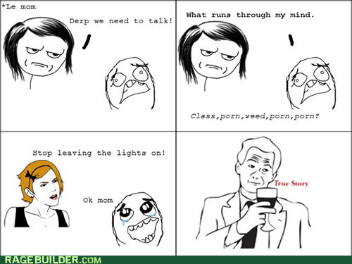 lights parenting Rage Comics true story - 6304236032