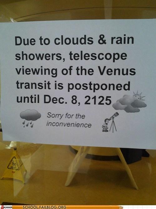 Astronomy postponed seattlites transit of venus - 6304256000