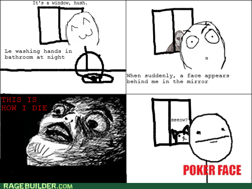 poker face,Rage Comics,raisin face,shadowlurker