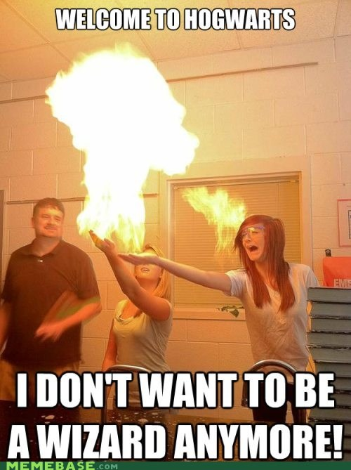 fire,Hogwarts,Memes,wizard