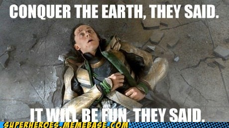 avengers,earth,fun,loki,superheroes,Super-Lols