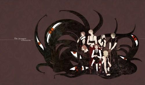 crossover Fan Art fullmetal alchemist summer blockbusters The Avengers - 6305879808