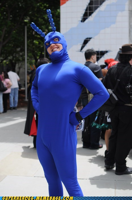 awesome costume Super Costume the tick - 6305894144