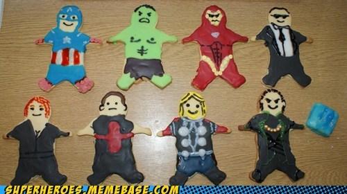 appetizers assemble avengers cookies Random Heroics - 6306342400