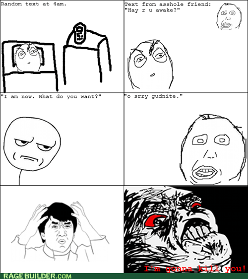 are you kidding me,Rage Comics,raisin rage,sleeping,texting