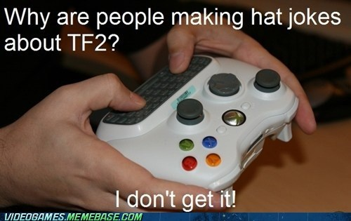 hats,Team Fortress 2,the orange box,troll,xbox