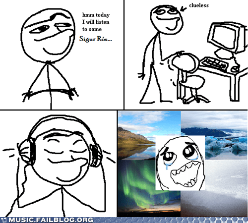comic,sigur ros,today i will listen to x